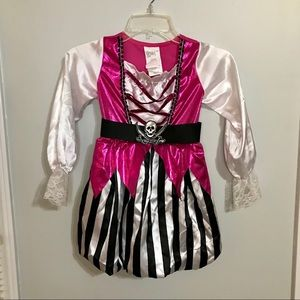 Costumes - Girls Pirate Halloween Costume Small